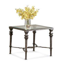 Bassett Mirror Lido Square End Table [T1210-250EC]