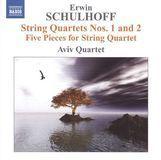 Erwin Schulhoff: String Quartets Nos. 1 & 2; Five Pieces for String Quartet [CD], 14989087