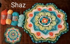 Mandala Madness interpreted by Sharon Laubscher from FB CCC group