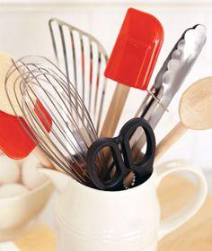 kitchen tools storage