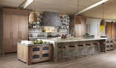 Can picture this layout for rustic kitchen.