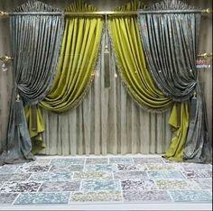rustik üzerinde kumaş üçgen kumaş detayı