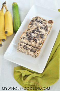 Paleo Banana Zucchini Bread   #MyWholeFoodLife