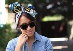This wire head wrap will stay in place all day. | 31 Pretty Hair Accessories You Can Actually Make