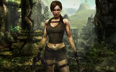HD Lara Croft Wallpaper for Desktop Background – 132471