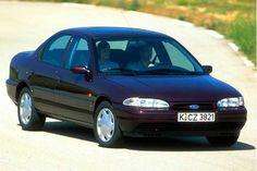 Ficha técnica completa do Ford Mondeo CLX 1.8 1995