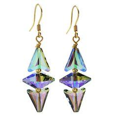 Free Beading Tutorial - How to: Swarovski Crystal Paradise Deco Earrings | Beadaholique