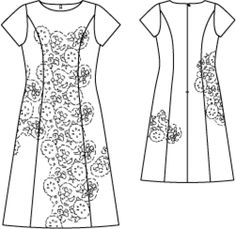 Dress BS 10/2011 120 (Without the lace)