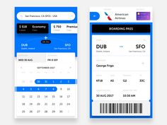 Booking the Airplane Tickets by George Frigo #Design Popular #Dribbble #shots