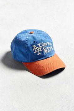American Needle Dyer New York Mets Baseball Hat Baseball Field 97f4c0a5a9f1