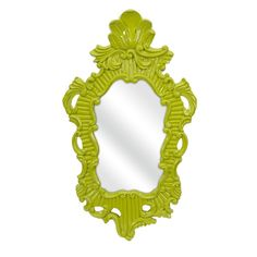 Finely Green Baroque Wall Mirror IMAX 47379