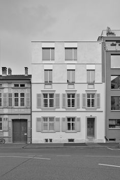 Salathé Architekten - Umbau Birmannsgasse 47, Basel