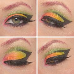 rock your style: [Monday Make-Up Madness] Bunter Vogel - Tukan oder Kolibri, welcher bist du?