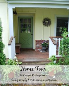 Welcome to An Oregon Cottage's Home Tour! Come on in and take a look around - hopefully you'll find some inspiring diy and decorating projects.