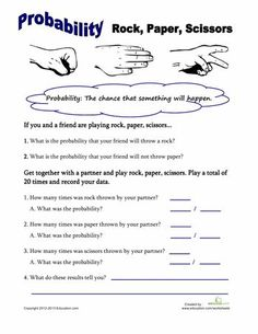 Worksheets: Rock, Pa
