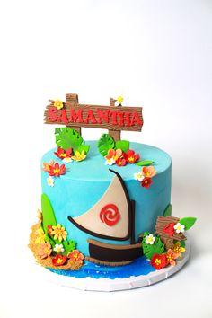 Moana Cake by Cake Bash Studio