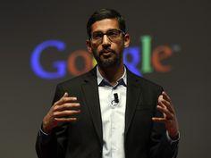 Who Is Sundar Pichai, Google's New CEO? His Promotion Could Mean Big Changes For The Tech Giant - BUSTLE #Pichai, #Google, #CEO, #Tech
