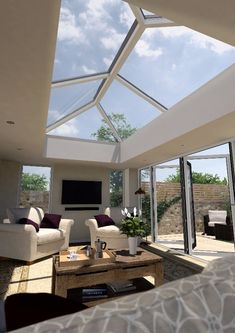 Crazy Tips and Tricks: Modern Roofing Lines roofing garden deck.Modern Roofing Lines. Orangerie Extension, Extension Veranda, House Extension Plans, House Extension Design, Roof Extension, Extension Ideas, Garden Room Extensions, House Extensions, Roof Design