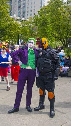 Sakura con Joker and Slade by Mackingster.deviantart.com on @deviantART