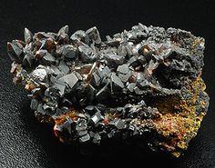 Descloizite, PbZn(VO4)(OH), Berg Aukas mine, Grootfontein Distr. , Otjozondjupa Region, Namibia