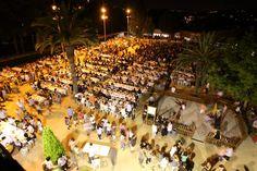 L'esperada fideuada a la Masia de Can Feliu. Festa Major 2012 #SQV