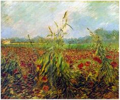 Oídos verdes del trigo - Vincent van Gogh  1888. Óleo sobre tela. Museo de Israel, Jerusalén