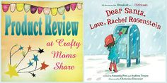 Crafty Moms Share: Dear Santa, Love Rachel Rosenstein -- Book Review