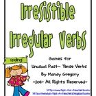 Included in this packet are four spelling games on unusual past tense verbs.  The first game is a simple activity that would best work with white...