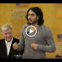 awesome :) <3 Russell Brand talks about Transcendental Meditation at Operation Warrior Wellness launch