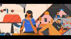 Smog.tv Part of the video for 6ta Bienal de diseño  Credits: Composition/2dAnimation: Francisco Castro. Character Animation:Berni Bruner, Francisco Castro Illustration:Felipe Vargas