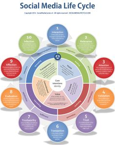How important is #socialmedia? Are we doing it right? What's the point? The Social Media Life Cycle...