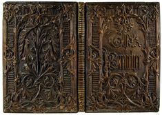 "A Machine-Made ""Gothic"" Binding  The Preacher. Chromolithographs by Owen Jones. [London]: Longman & Company, 1849."