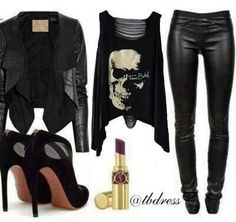 Love edgy fashion!