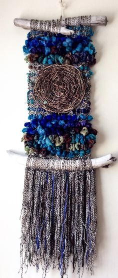 Risultati immagini per weaving passementerie Weaving Textiles, Weaving Art, Weaving Patterns, Loom Weaving, Tapestry Weaving, Hand Weaving, Textile Fiber Art, Textile Prints, Weaving Wall Hanging