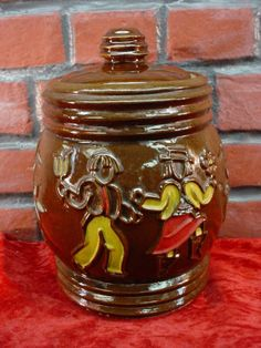 Rustic Cookie Jar Stunning Vintage Mccoy Pottery Grandfather Clock Cookie Jar Marked Usa Design Ideas