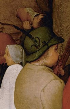 Detail from The Peasant Wedding, Pieter Bruegel the Elder, 1566 - 1569 Pieter Brueghel El Viejo, Pieter Bruegel The Elder, Renaissance Paintings, Large Painting, 16th Century, The Magicians, Printmaking, Folk, Culture