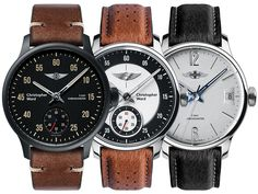 Newly released Christopher Ward C1 Morgan Chronometer in three different variations, all coming in a 40.5mm case. Also sporting a 120-hour power reserve and COSC certification. Discover more in our latest article.