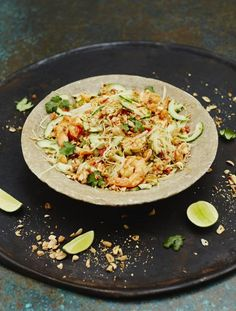 Prawn & Papaya Salad. Jam-packed with delicious Asian flavours