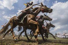 Horseback Archery -Kurultaj 2014 Hungary
