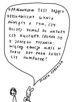 by Marta Zabłocka (Życie na kreskę) Dog Tags, Dog Tag Necklace, Humor, Humour, Funny Photos, Funny Humor, Comedy, Lifting Humor, Jokes