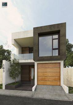 Projeto Remodelación Fachada Contemporánea / Estudio Monroy Arquitectos- Propuesta #3 #Render #Estudiomonroyarquitectos #Arquitecturacontemporanea