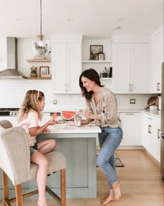 You dont have to compromise between kids and a nice home. Decor can be practical and pretty. Opt for open shelves they cant reach to display your fav decor pieces Casual Mom Style, Trendy Outfits, Picky Eaters, Modern Boho, Open Shelving, Hot Topic, New Homes, Post Ad, Dietitian