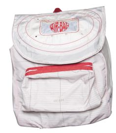 #Backpacker: made from 100% recycled airbags. $60