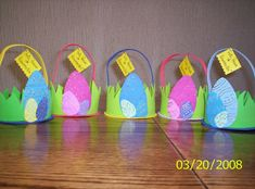 canastas para pascua Easter Baskets, Baby Shoes, Kids, Easter Decor, Classroom Ideas, Hampers, Xmas, Blue Prints, Manualidades