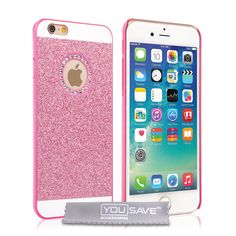 Yousave Accessories iPhone 6 and 6s Flash Diamond Case - Pink | Mobile Madhouse