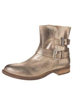 SPM - BASTA SUN - Cowboy/Biker boots - gold