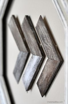wooden arrow art