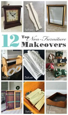 Top 12 Non-Furniture Makeovers & Projects of 2018 Hello lovelies! On Tuesday I counted down my top 12 furniture makeovers from . Furniture Makeover, Furniture Decor, Painted Furniture, Online Furniture, Furniture Making, Painted China Cabinets, Thrift Store Crafts, Home Organization Hacks, Repurposed Furniture