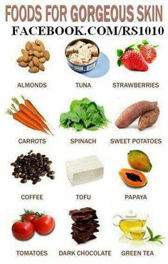 5 Foods to Eat for Glowing Skin - Top-Trends Foods For Clear Skin, Food For Glowing Skin, Clear Skin Diet, Foods For Healthy Skin, Healthy Skin Care, Healthy Life, Healthy Snacks, Healthy Eating, Healthy Recipes
