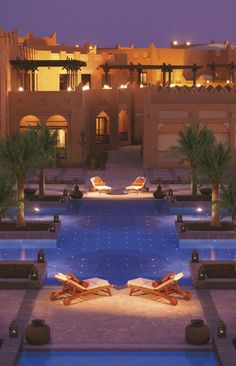 Sharq Village & Spa - Spend an evening under the stars lounging poolside at Sharq Village and Spa.